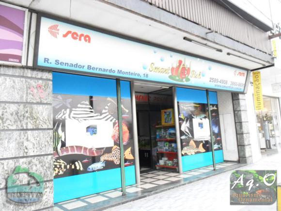 ENABETTAS 2011 - Fachada da loja Smart Fish local onde ocorreu o evento