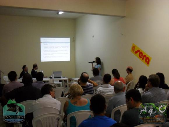 ENABETTAS 2011 - Esclarecimentos sobre a legislação relativa à criação de Bettas com Micheline Marcon (MPA)