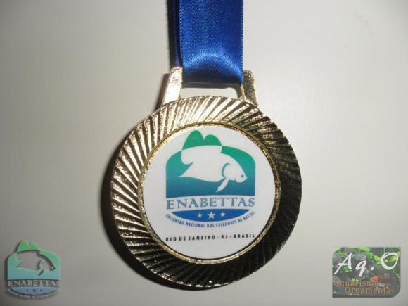 ENABETTAS 2011 - Medalha que recebi pela colaboração com o evento