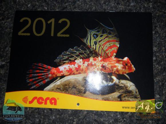 ENABETTAS 2011 - Calendário da SERA distribuído no evento