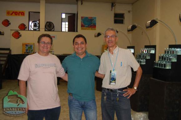 Paulo Freitas, Jorge Pereira e Reinaldo Santana