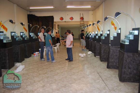 Vista parcial do salão de exposição do ENABETTAS 2011