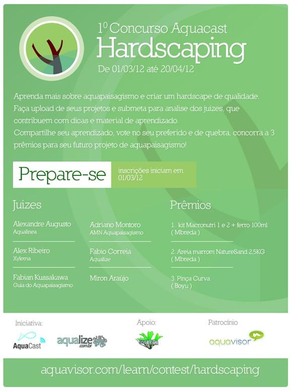1º Concurso Aquacast de Hardscaping
